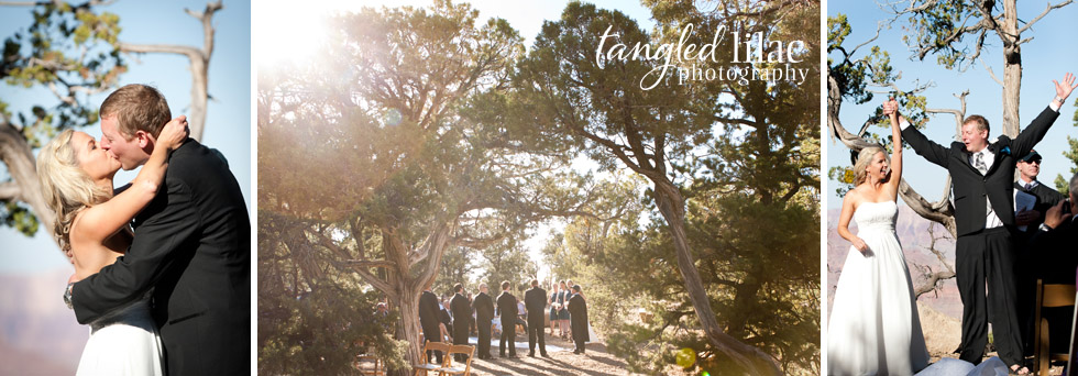 grand canyon shoshone point wedding