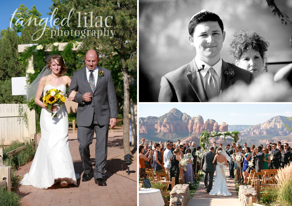 wedding ceremony, sky ranch lodge, sedona wedding photography