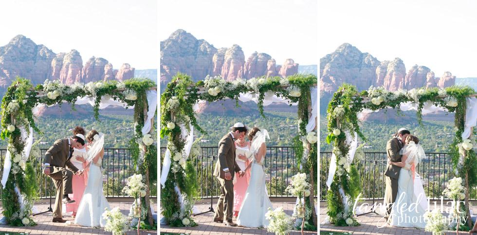 Wedding Ceremony Sky Ranch Lodge Sedona Photography
