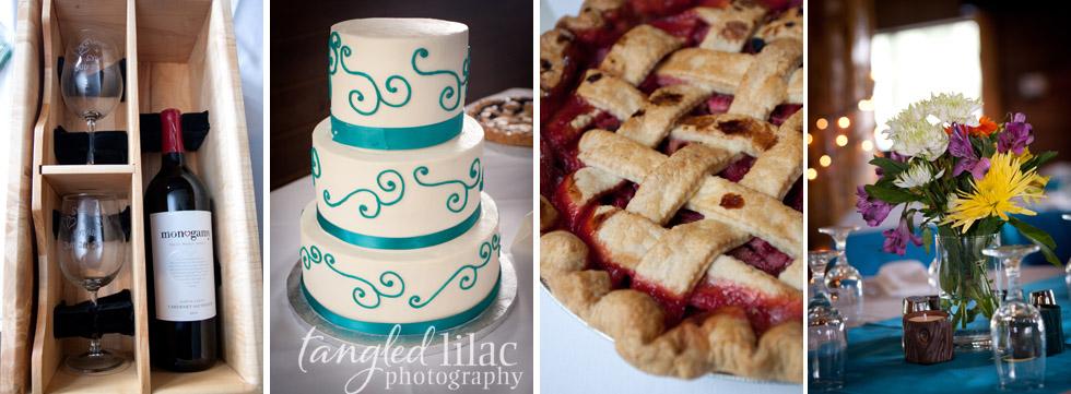 Cake Pie Wedding Mountain