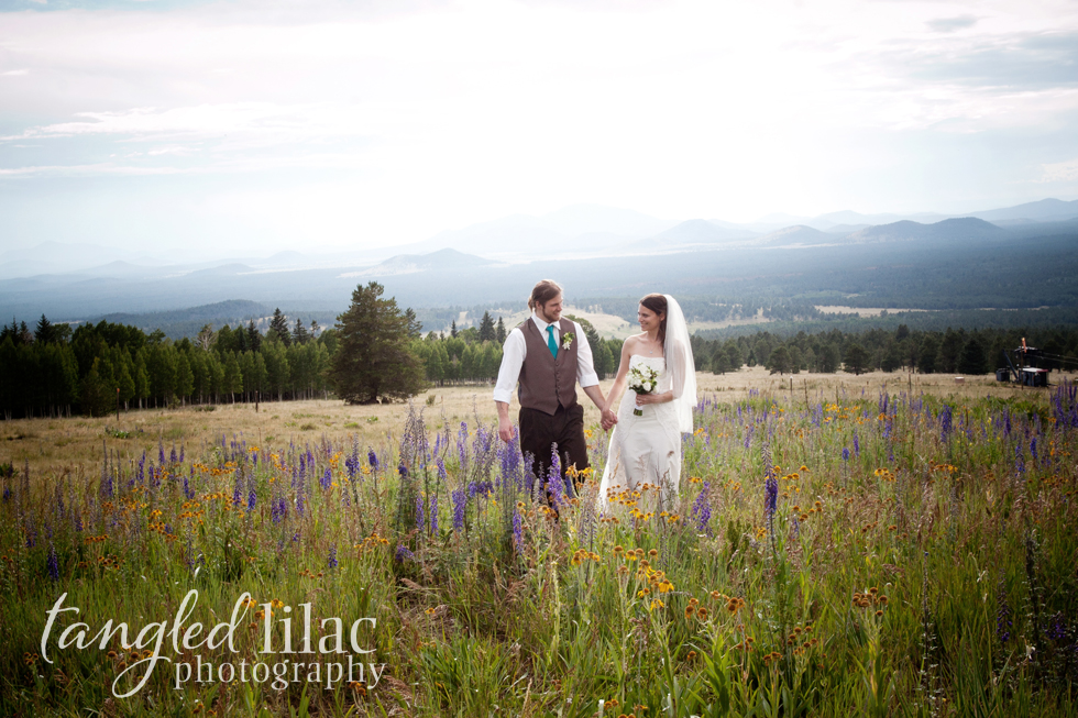 Wildflower ceremony mountain
