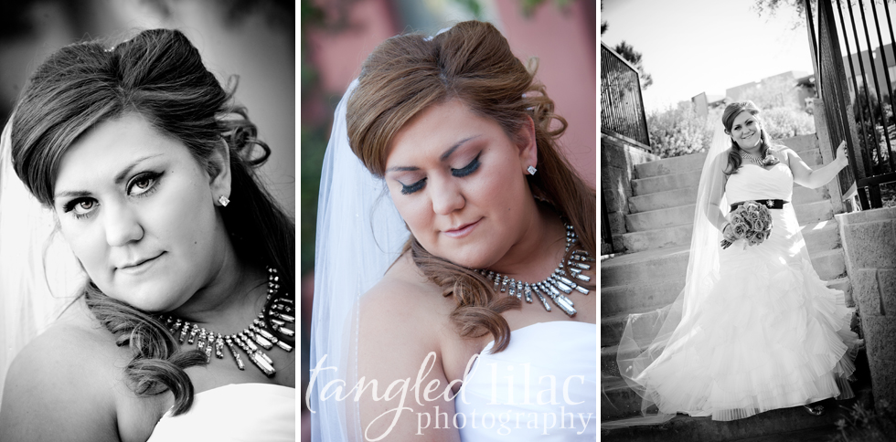 bridal portraits
