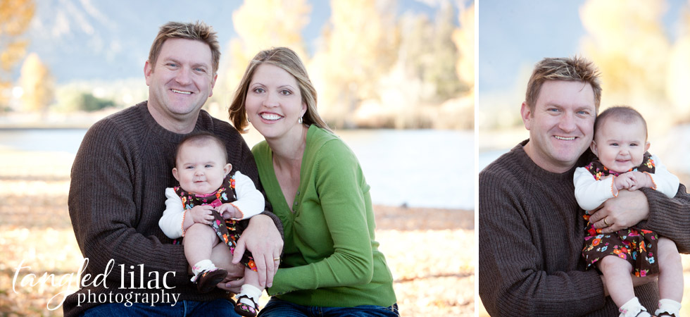 baby, family photography, fall, flagstaff