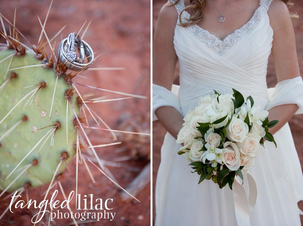 Sedona Wedding Photography, outdoor ceremony, red rock, bell rock pathway,