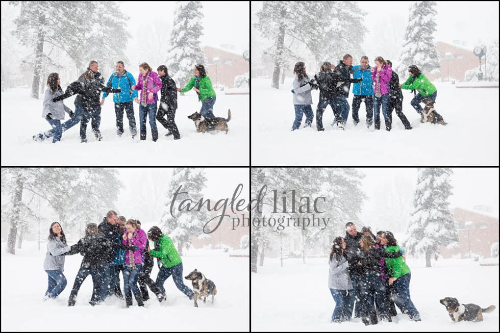 Winter Outdoor Portraits Arizona