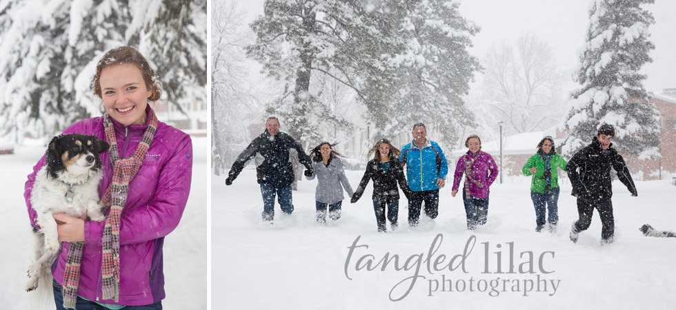 Outdoor Snow Photography Sessions Arizona