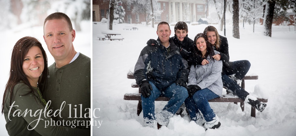 Arizona Snow Outdoor Portraits