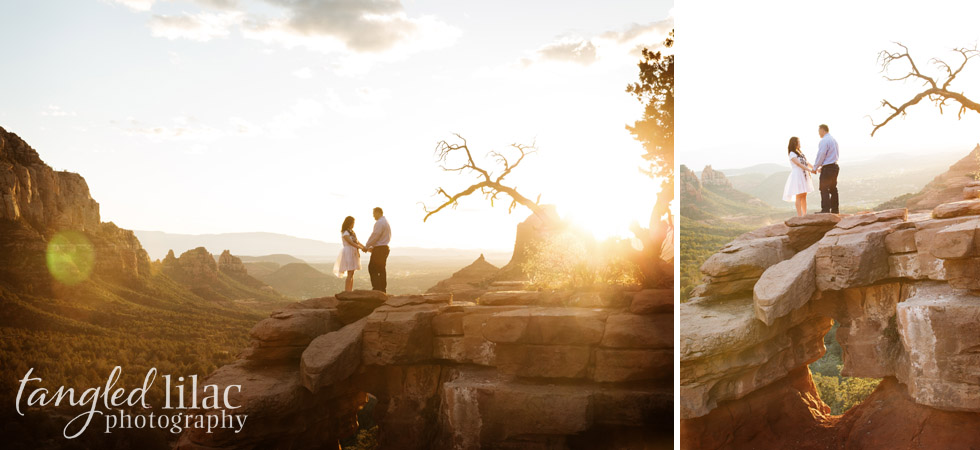 Sedona Elopement Sunset