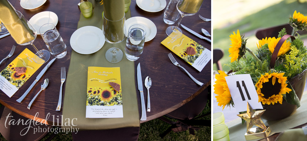 sunflower-wedding-reception
