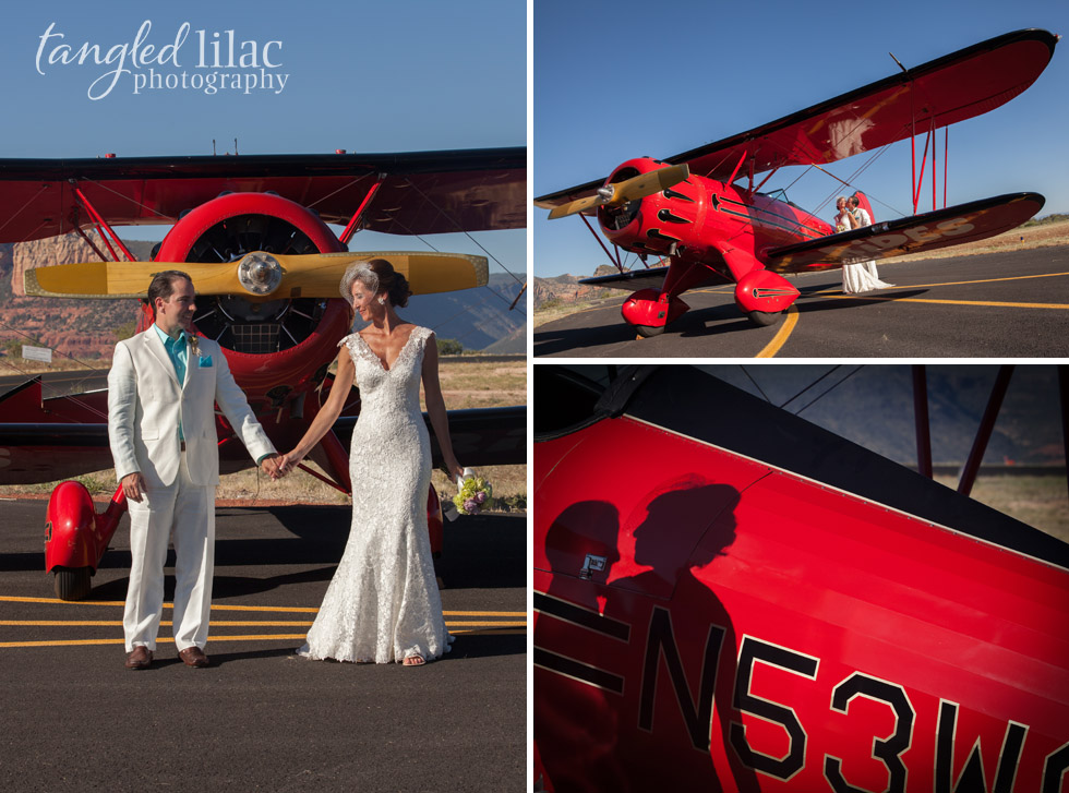 red_vintage_plane_wedding