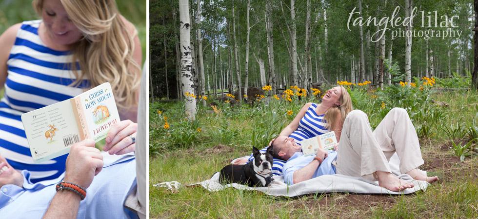 Flagstaff-maternity-outdoor-book