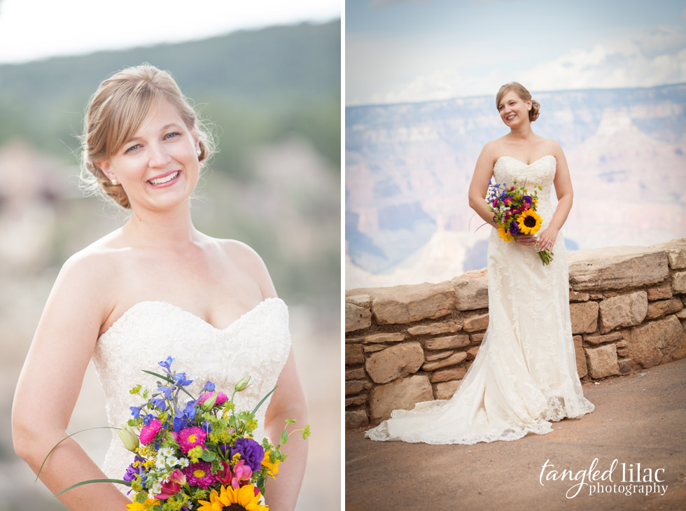 Anneliese And Malte U2019s Shoshone Point Wedding  Grand Canyon