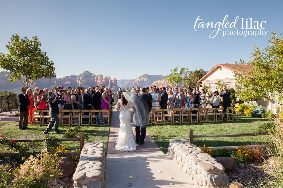 Sedona Sky Ranch Lodge Wedding Groom Photography Ceromony Bridesmaids Ceremony