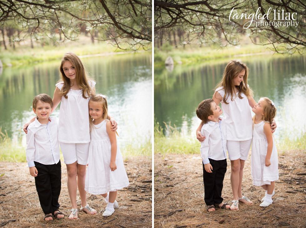 children_family_forest_highlands