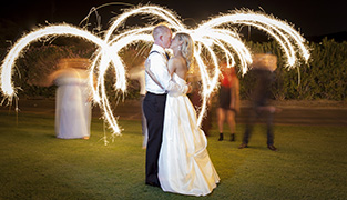 sparkler-wedding